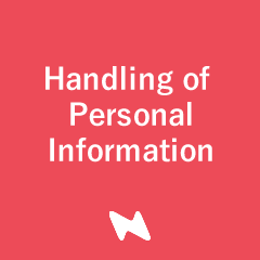 Handling of Personal Information